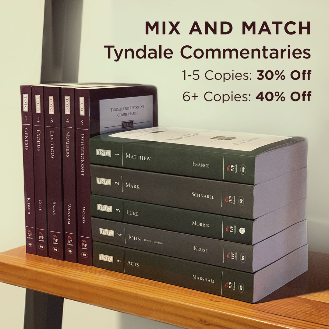 Tyndale Commentaries Mix and Match
