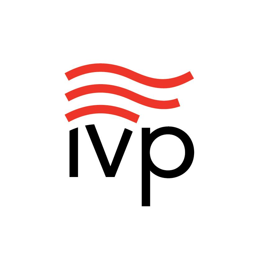 IVP Logo in White Circle