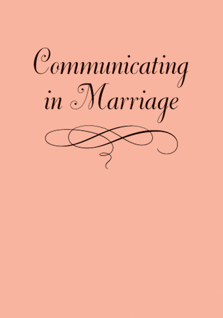 Communicating in Marriage