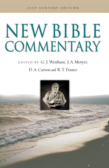 New Bible Commentary - InterVarsity Press