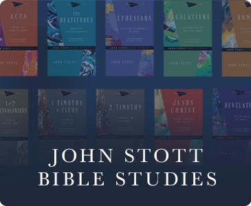 Books on John Stott Bible Studies
