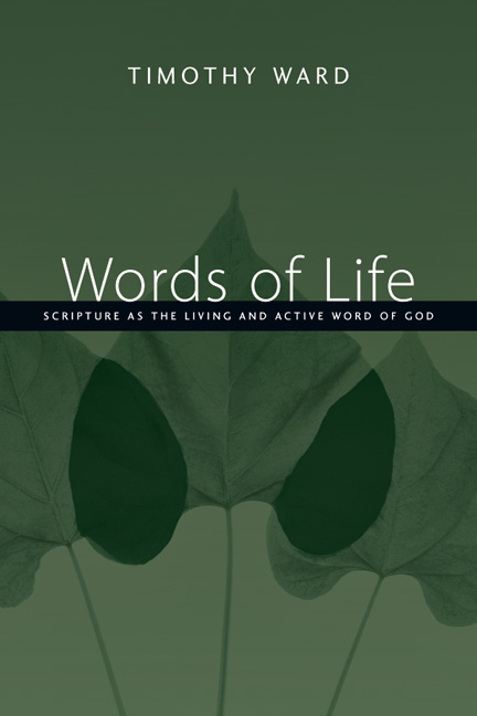 Words of life intervarsity press by timothy ward fandeluxe Images