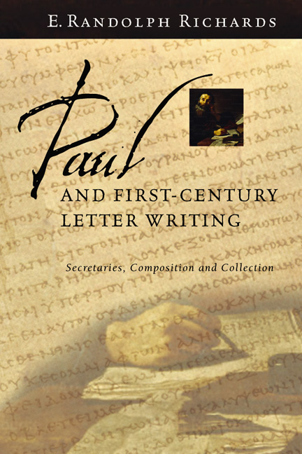 Paul and First-Century Letter Writing