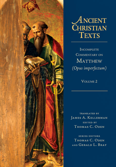 Incomplete Commentary on Matthew (Opus imperfectum)