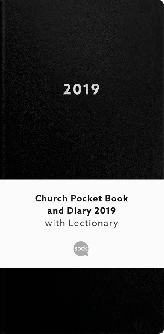 Church Pocket Book and Diary 2019: Black