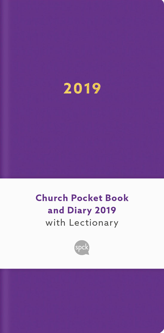 Church Pocket Book and Diary 2019: Purple