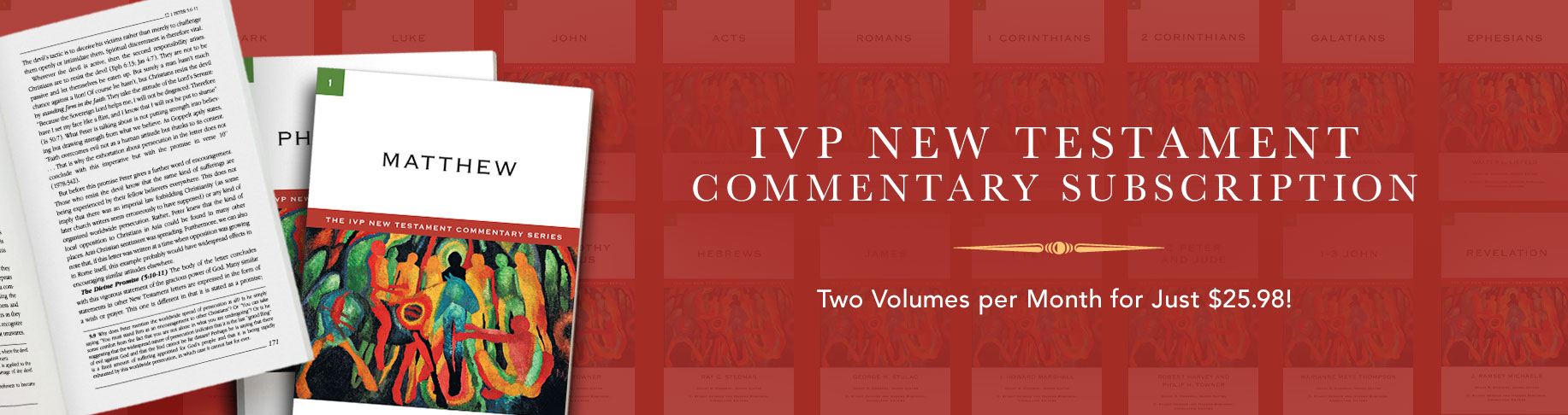 IVP New Testament Commentary Subscription