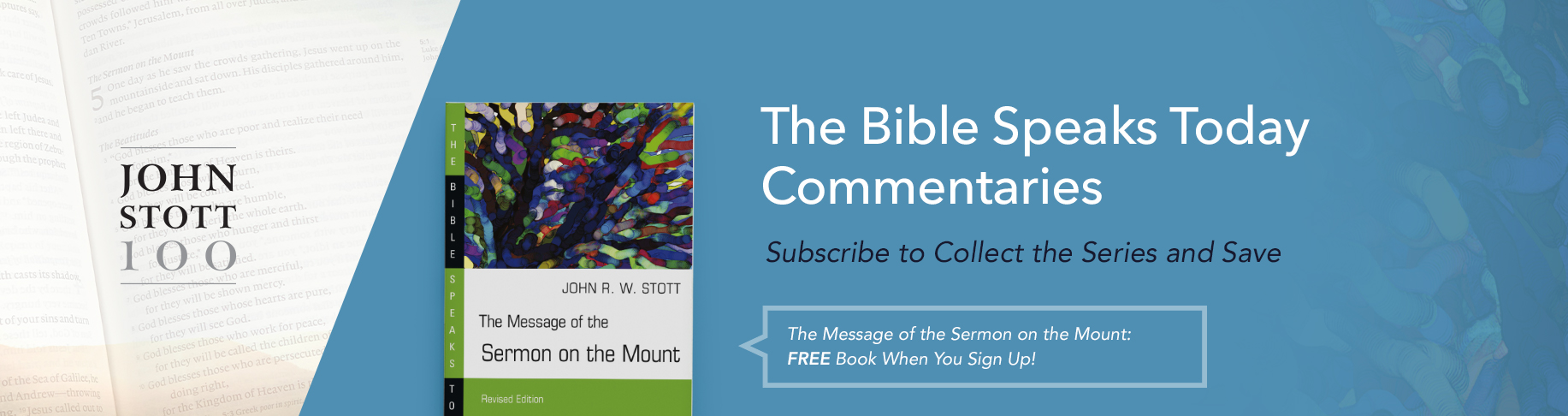 Bible Speaks Today Commentary Program