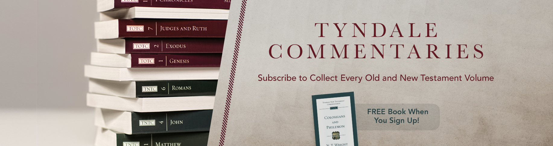 Tyndale Commentary Subscripton