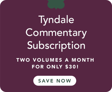 Join the Tyndale Commentaries Program