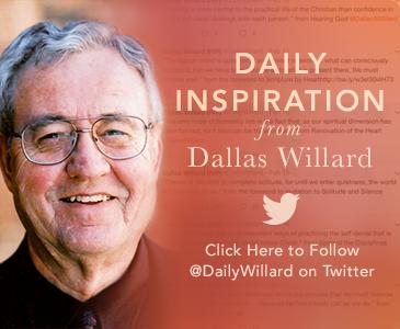 Daily Inspiration from Dallas Willard