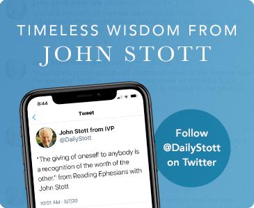 Click to Follow John Stott on Twitter