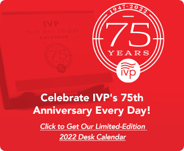 Celebrate IVP's 75th Anniversary Every Day with Our Limited Edition 2022 Desk Calendar