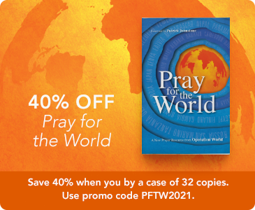 "Save 40% When You Buy a Box of ""Pray for the World"""