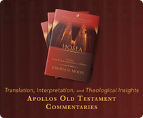 Apollos Old Testament Commentary Series