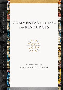 Commentary Index and Resources
