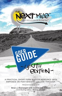 The Next Mile - Goer Guide Youth Edition