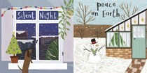 Winter Scene 10-Pack Christmas Cards