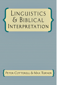 Linguistics & Biblical Interpretation