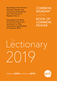 Common Worship Lectionary 2019: Paperback