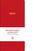 Church Pocket Book and Diary 2019: Red