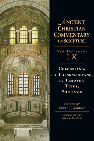 Colossians, 1-2 Thessalonians, 1-2 Timothy, Titus, Philemon